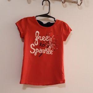 ✨Jumping Beans Shirt, Girls Size 4T, So Cute✨